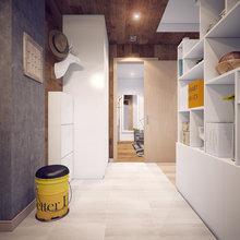 Фотография: Прихожая в стиле Лофт, Современный, Квартира, Дома и квартиры, Москва – фото на InMyRoom.ru