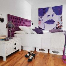Фотография: Спальня в стиле Классический, Скандинавский, Современный, Эклектика, Квартира, Дома и квартиры, Поп-арт – фото на InMyRoom.ru