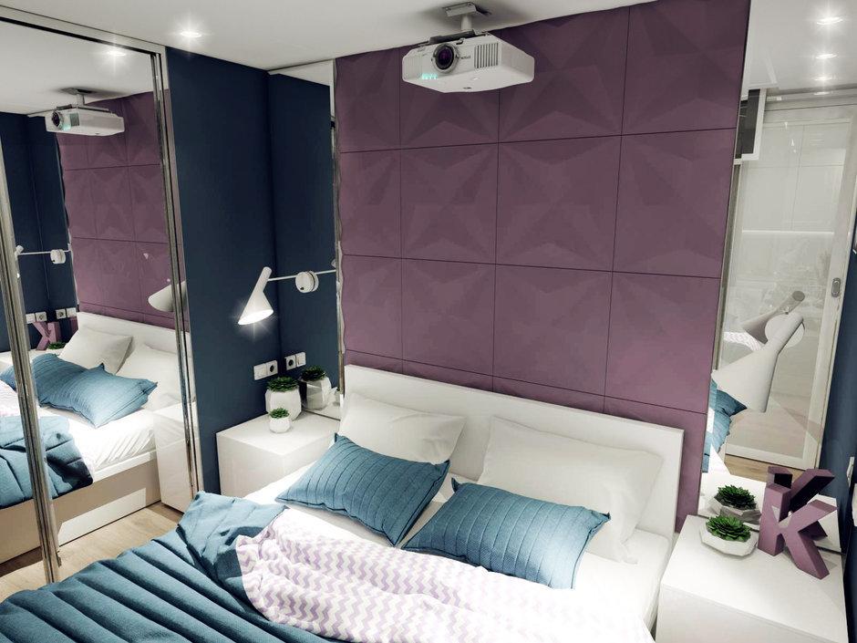 Фотография: Спальня в стиле Хай-тек, Квартира, Россия, Проект недели, Новая Москва – фото на InMyRoom.ru