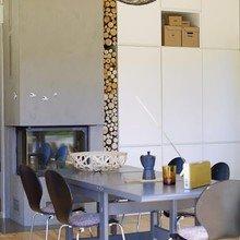Фотография: Гостиная в стиле Скандинавский, Декор интерьера, DIY, Дом, Декор дома, Камин – фото на InMyRoom.ru