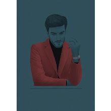 Картина (репродукция, постер): Gentleman's guide No. 22 - Джек Хьюз