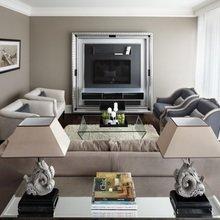 Фотография: Гостиная в стиле , Квартира, Текстиль, Дома и квартиры – фото на InMyRoom.ru