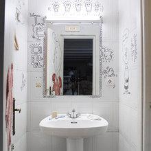 Фото из портфолио Дизайн с французскими акцентами, современным дизайном и цветами – фотографии дизайна интерьеров на INMYROOM