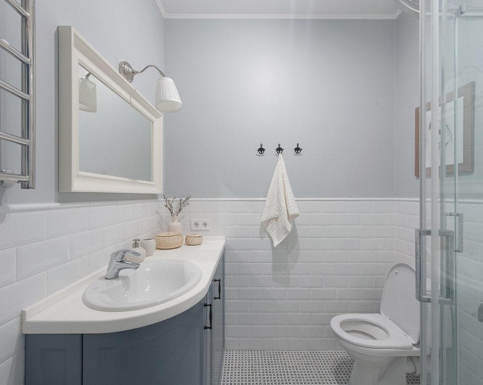 Фотография: Ванная в стиле Скандинавский, Гид – фото на InMyRoom.ru