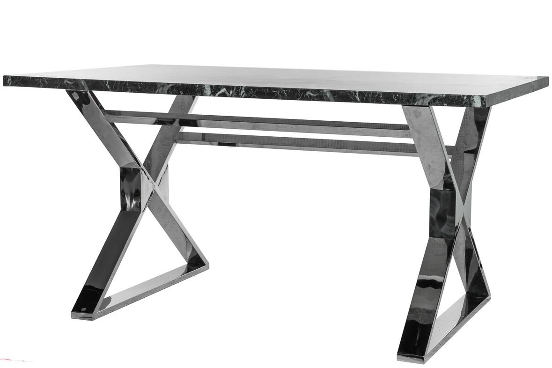 Купить Обеденный стол на стальном основании со столешницей из искусственного мрамора, inmyroom, Китай