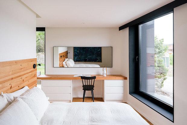 Фотография: Спальня в стиле Скандинавский, Эко, Дом и дача – фото на INMYROOM