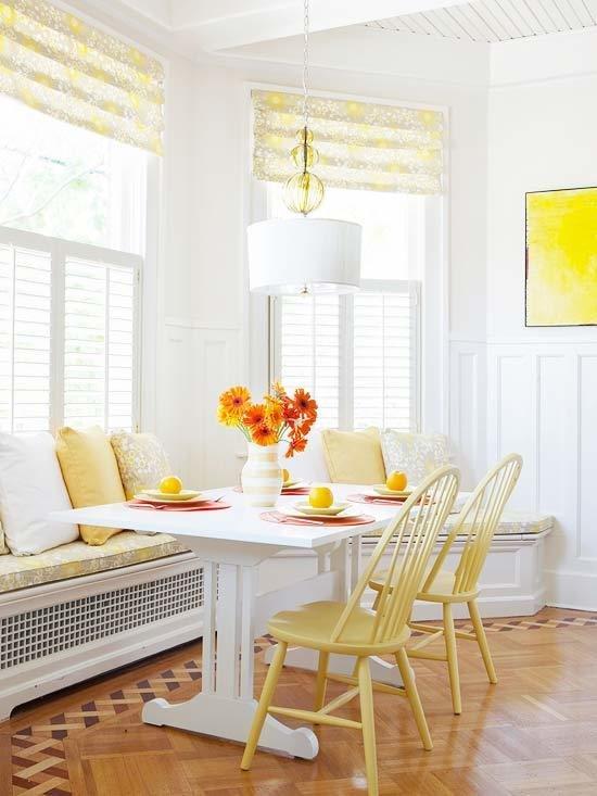 Фотография: Кухня и столовая в стиле Восточный, Декор интерьера, Текстиль, Шторы – фото на InMyRoom.ru