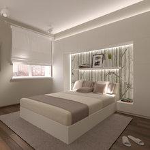 Фото из портфолио Двухкомнатная квартира в жилом доме на Нагатинской набережной в Москве. – фотографии дизайна интерьеров на INMYROOM
