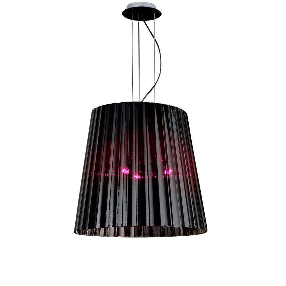 Купить Подвесной светильник de Majo Lume из стекла бордового цвета, inmyroom, Италия