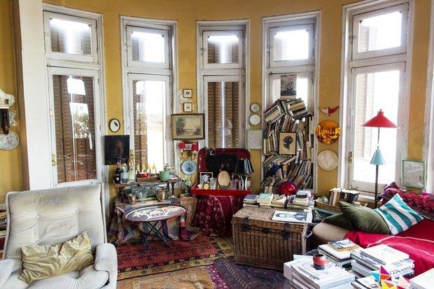Фотография: Гостиная в стиле Эклектика, Советы, уборка – фото на InMyRoom.ru