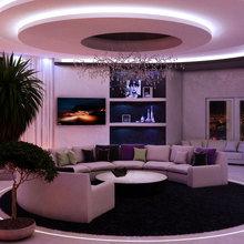 Фотография: Гостиная в стиле Хай-тек – фото на InMyRoom.ru