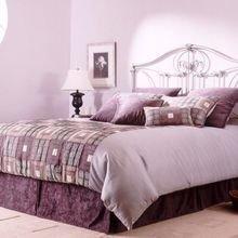 Фотография: Спальня в стиле , Декор интерьера, Дизайн интерьера, Мебель и свет, Цвет в интерьере – фото на InMyRoom.ru