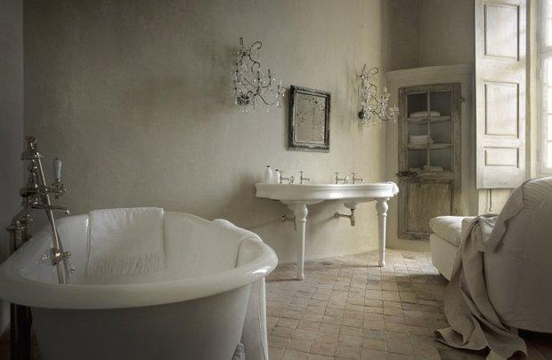 Фотография: Ванная в стиле Классический, Декор интерьера, Дом, Дома и квартиры, Прованс, Замок – фото на InMyRoom.ru