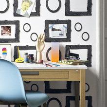 Фотография: Офис в стиле Классический, Скандинавский, Современный, Эклектика, Декор интерьера, Дизайн интерьера, Цвет в интерьере, Обои, Стены, Эко – фото на InMyRoom.ru
