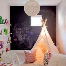 Фотография: Детская в стиле Скандинавский, Декор интерьера, DIY, Декор, грифельная краска, графитовая краска, краска для школьных досок в интерьере, грифельная краска с эффектом школьной доски – фото на InMyRoom.ru