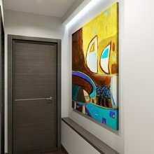 Фотография: Прихожая в стиле Современный, Квартира, Дома и квартиры, Проект недели – фото на InMyRoom.ru