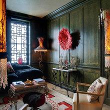 Фотография: Гостиная в стиле Эклектика, Дизайн интерьера – фото на InMyRoom.ru