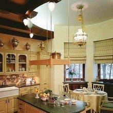 Фотография: Кухня и столовая в стиле Кантри, Эклектика, Дом, Дизайн интерьера, Ар-нуво – фото на InMyRoom.ru