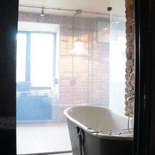 Фото из портфолио Стекло с переменной прозрачностью – фотографии дизайна интерьеров на INMYROOM