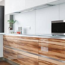 Фотография: Кухня и столовая в стиле Минимализм, Проект недели – фото на InMyRoom.ru