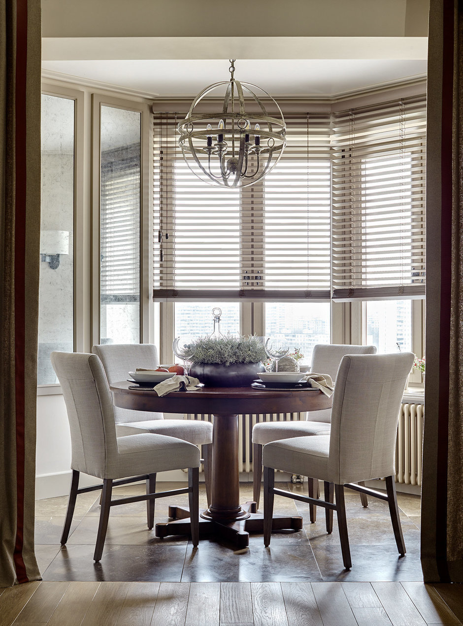 Фотография: Кухня и столовая в стиле Классический, Гостиная, Карта покупок, Анна Павловская – фото на InMyRoom.ru