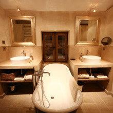 Фотография: Ванная в стиле Кантри, Современный, Декор интерьера, Дом, Дома и квартиры, Прованс – фото на InMyRoom.ru