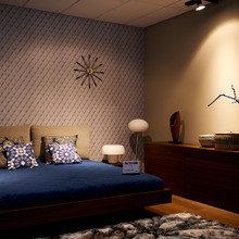 Фотография: Спальня в стиле Современный, Эклектика, Декор интерьера, BoConcept, Мебель и свет, Индустрия, События, Кулинарная студия Clever, Мягкая мебель – фото на InMyRoom.ru