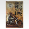 Инсталляция Live to ride, ride to live