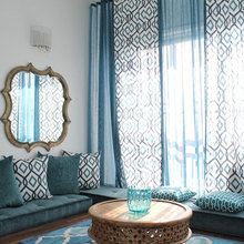 Фотография: Гостиная в стиле Восточный, Малогабаритная квартира, Интерьер комнат – фото на InMyRoom.ru