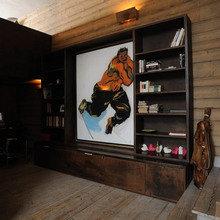 Фотография: Гостиная в стиле Кантри, Дом, Дома и квартиры, Эко, Шале – фото на InMyRoom.ru