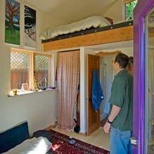 Фотография: Спальня в стиле Кантри, Современный, Дом, Дома и квартиры, Городские места, Дача – фото на InMyRoom.ru