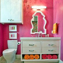 Фотография: Ванная в стиле Восточный, Декор интерьера, Мебель и свет, Светильник – фото на InMyRoom.ru