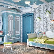 Фотография: Детская в стиле Кантри, Квартира, Дома и квартиры, Проект недели, Средиземноморский – фото на InMyRoom.ru