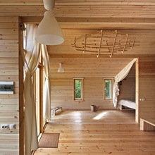 Фотография: Спальня в стиле Лофт, Эко, Дом, Архитектура – фото на InMyRoom.ru