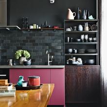 Фотография: Кухня и столовая в стиле Лофт, Эклектика, Малогабаритная квартира, Квартира, Дома и квартиры – фото на InMyRoom.ru