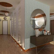Фотография: Прихожая в стиле Эклектика, Декор интерьера, Декор дома, Зеркала – фото на InMyRoom.ru