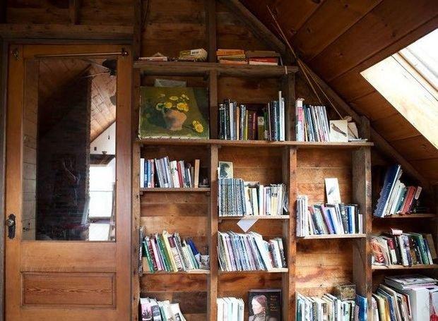 Фотография: Прочее в стиле , Хранение, Стиль жизни, Советы, Библиотека – фото на InMyRoom.ru