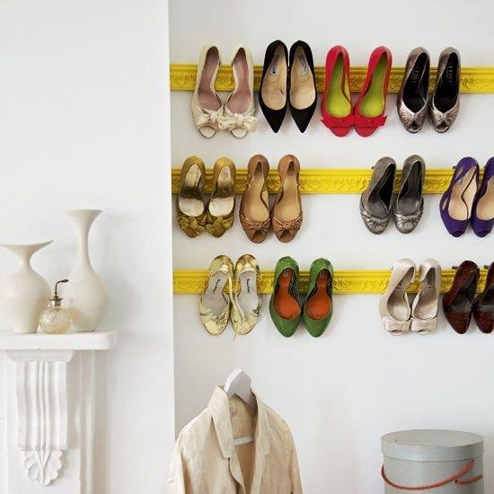 Фотография: Прихожая в стиле Современный, Советы, хранение обуви, идеи хранения обуви – фото на InMyRoom.ru