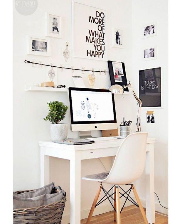 Фотография: Офис в стиле Скандинавский, Декор интерьера, Малогабаритная квартира, Декор дома – фото на InMyRoom.ru