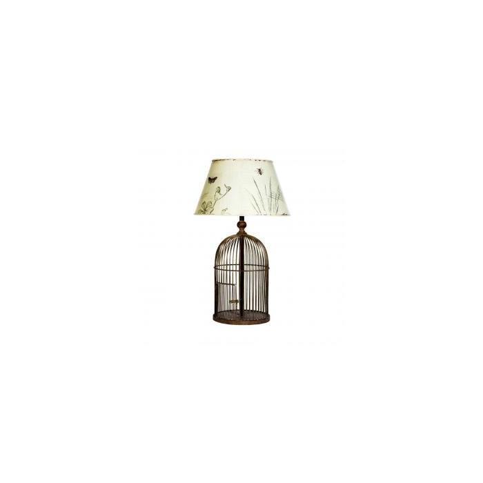 Лампа настольная Metal birdcage
