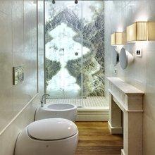 Фотография: Ванная в стиле Современный, Классический, Эклектика, Квартира, Дома и квартиры – фото на InMyRoom.ru