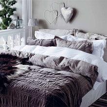 Фотография: Спальня в стиле Скандинавский, Декор интерьера, Праздник, Новый Год – фото на InMyRoom.ru