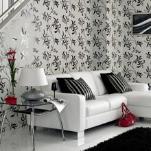 Фотография: Гостиная в стиле Современный, Декор интерьера, Дизайн интерьера, Цвет в интерьере, Белый, Серый – фото на InMyRoom.ru