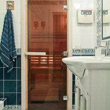 Фотография: Ванная в стиле Современный, Кантри, Декор интерьера, Дом, Проект недели – фото на InMyRoom.ru