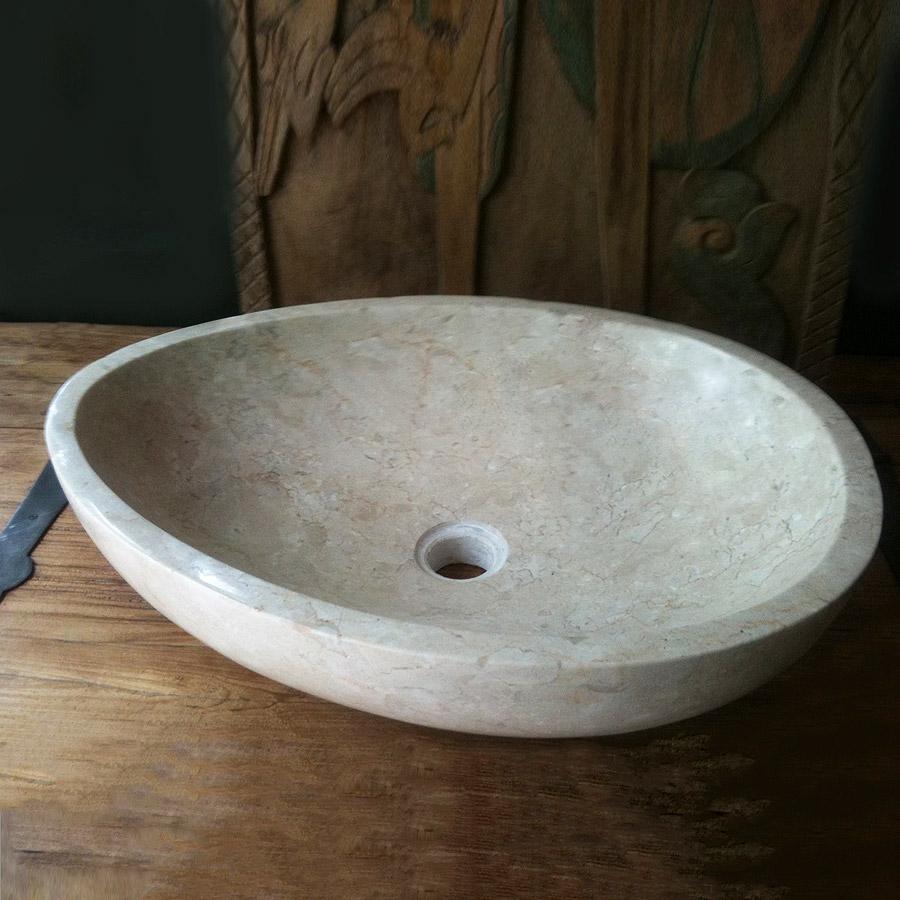 Купить Раковина Teak&Amp;Water Ovo White, inmyroom, Индонезия