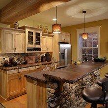 Фотография: Кухня и столовая в стиле Эко, Декор интерьера, Мебель и свет – фото на InMyRoom.ru