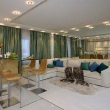 Фото из портфолио Квартира в стиле Ар-деко 100 кв.м – фотографии дизайна интерьеров на INMYROOM