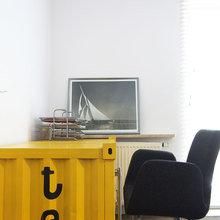 Фотография: Офис в стиле Скандинавский, Современный, Эклектика, Лофт, Квартира, Дома и квартиры, Индустриальный, Польша – фото на InMyRoom.ru