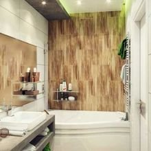Фотография: Ванная в стиле Современный, Эко, Декор интерьера, Дизайн интерьера, Декор, Зеленый, Ванна – фото на InMyRoom.ru