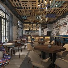 Фото из портфолио Ресторан SERBISH – фотографии дизайна интерьеров на INMYROOM